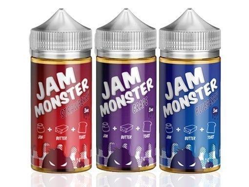 Jam Monster Eliquids Bundle