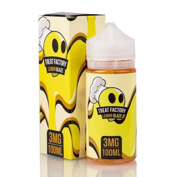 Lemon Glaze by Treat Factory E Liquid 100ml